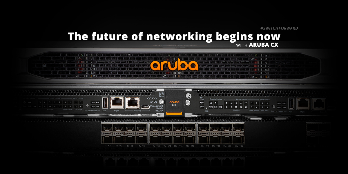 aruba CX family